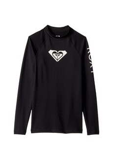 Roxy Whole Hearted Long Sleeve Rashguard (Big Kids)