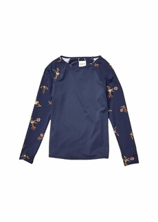 Roxy Wild Flowers Long Sleeve Rashguard (Big Kids)