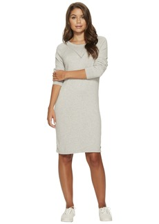 Roxy Winter Story Long Sleeve Button Back Dress