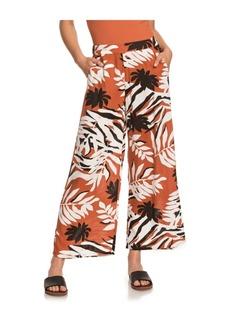 Roxy Women's Midnight Avenue Dobby Mid-Rise Waist Pants