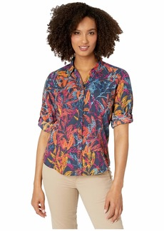 Royal Robbins Expedition Print 3/4 Sleeve Shirt