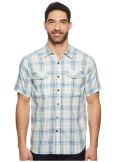 Royal Robbins Merinolux Plaid Short Sleeve Shirt