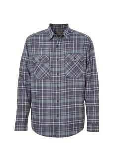 Royal Robbins Men's Performance Flannel LS Plaid Shirt