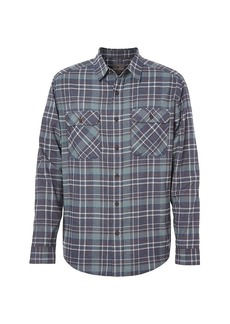 Royal Robbins Men's Performance Flannel LS Plaid Shirt