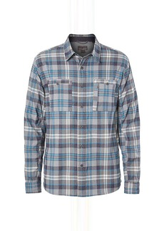 Royal Robbins Men's Treeline Stretch Performance Plaid Flannel LS Shirt