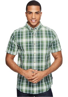Royal Robbins Mid-Coast Seersucker Plaid Short Sleeve