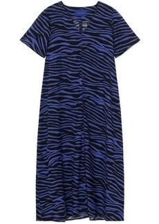 Résumé Umani Zebra Print Midi Dress