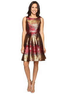 rsvp Shoes Millington Metallic Brocade Dress