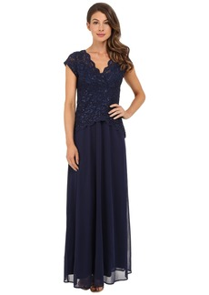 rsvp Abigail Mock Two-Piece Gown