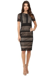 rsvp Shoes rsvp Enna Crochet Lace Bodycon Midi Dress