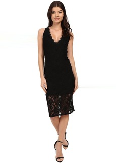 rsvp Shoes rsvp Imogen Open Back Midi Lace Dress