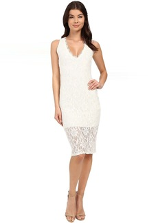 rsvp Imogen Open Back Midi Lace Dress
