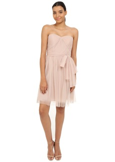 rsvp Pleated Ciena Bow Dress