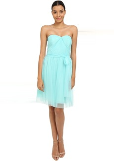 rsvp Pleated Ciena Bow Dress