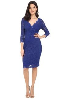 rsvp Portici Floral Lace Dress w/ Sequins