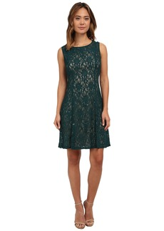 rsvp Shoes rsvp Radiant Fit and Flare Sequin Lace Dress
