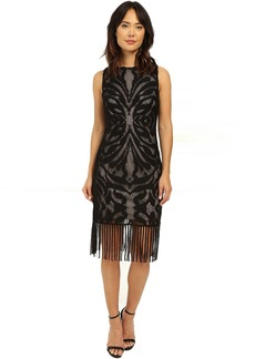 rsvp Rhone Fringe Lace Dress