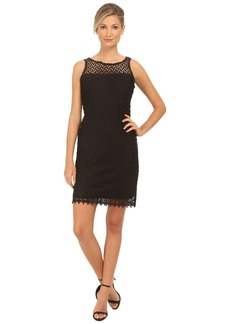 rsvp Short Lace Sheath Thank Dress