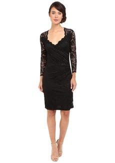 rsvp Short Margaux Lace 3/4 Sleeve Dress