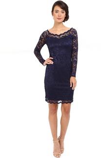 rsvp Short Margaux Lace Long Sleeve Dress