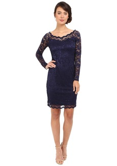 rsvp Shoes rsvp Short Margaux Lace Long Sleeve Dress