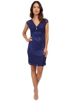 rsvp Verona Short Sleeve Lace Dress