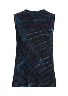 RtA Arena Sparkle Tie-Dye Sleeveless Top