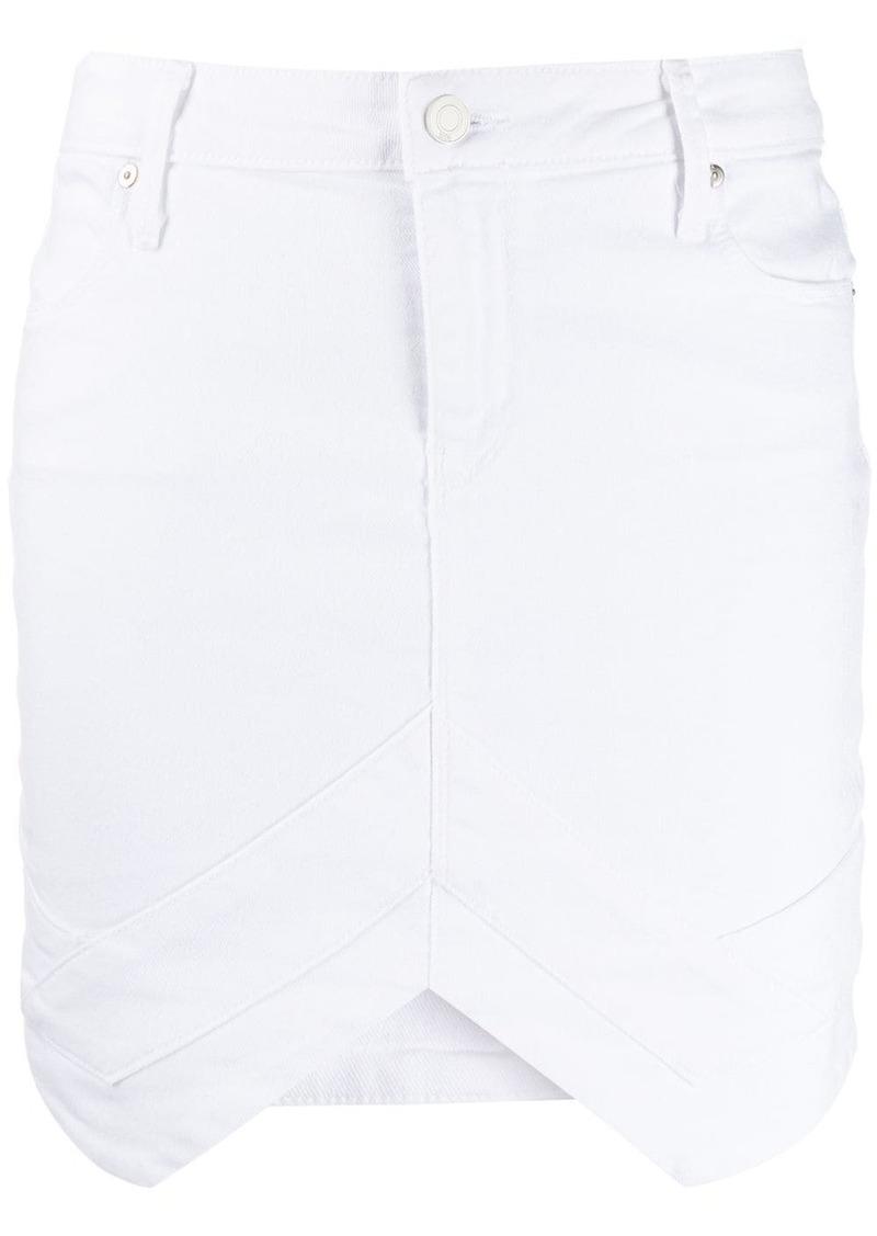 RtA asymmetric hem skirt