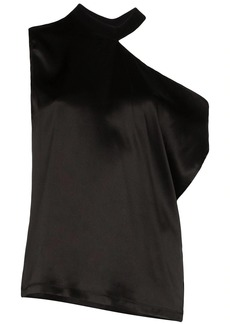 RtA Axel one-shoulder blouse