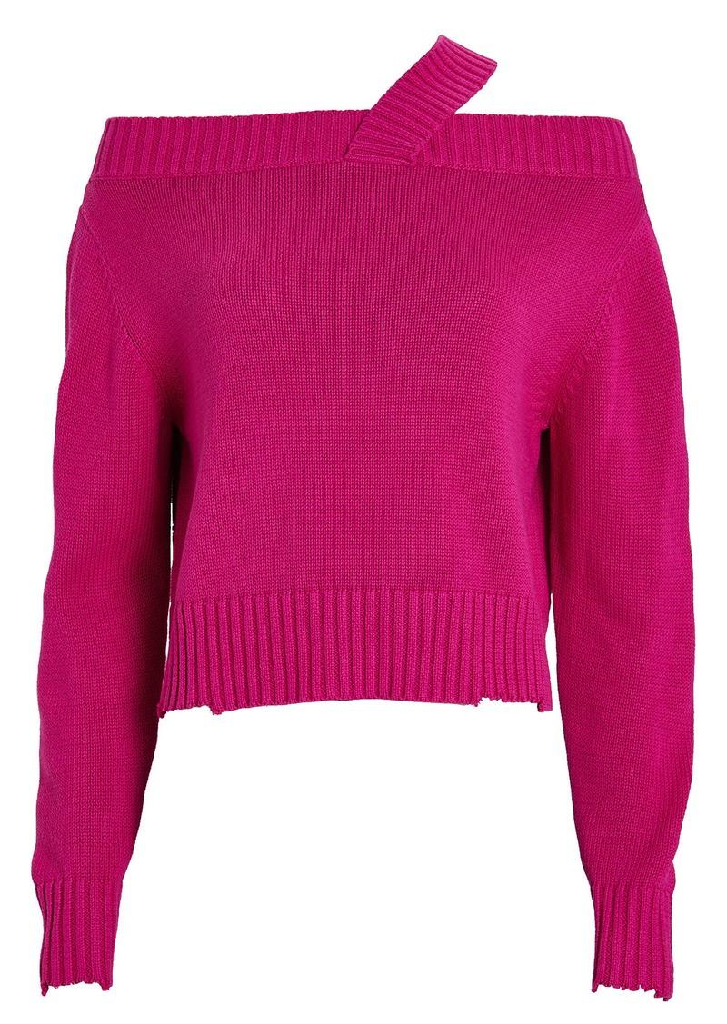 RtA Beckett Knit Cotton Sweater