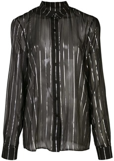 RtA Blythe striped sheer shirt