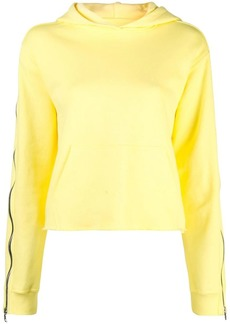 RtA contrast stripe hoodie