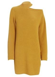 RtA Corin Cut-Out Sweater Dress