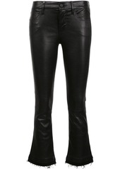 RtA cropped flared trousers