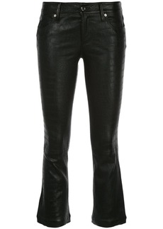 RtA cropped straight-leg trousers