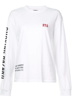 RtA Cruz longsleeved T-shirt