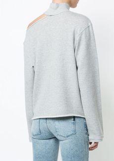 RtA cut-out detail sweatshirt