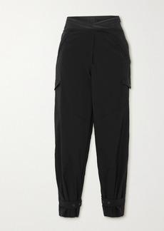 RtA Dallas Cropped Shell Slim-fit Pants
