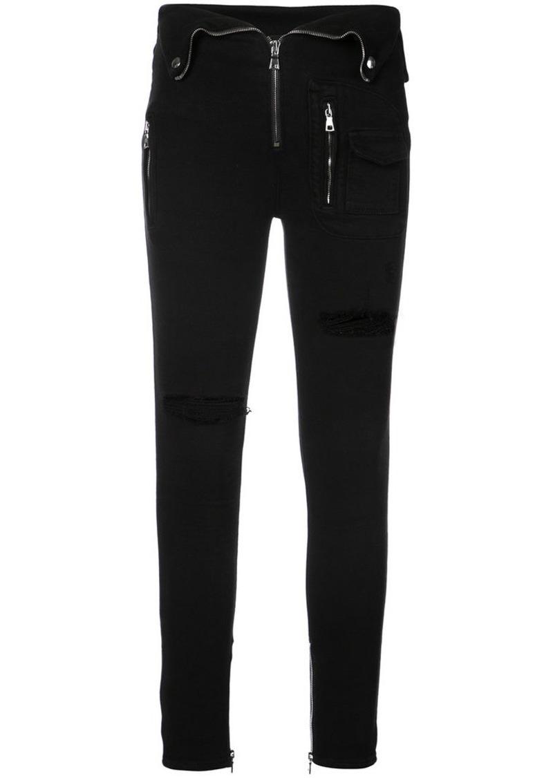 RtA distressed skinny jeans  1519da491d6