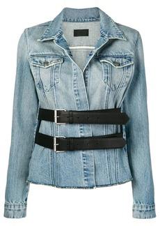 RtA double buckle denim jacket