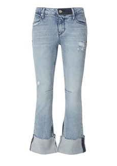 RtA Duchess Cuffed Flare Jeans