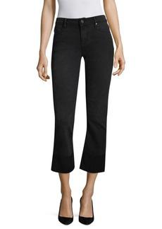 RtA Duchess Cuffed Skinny Flared Jeans