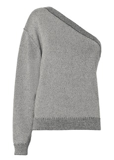 RtA Goldie One Shoulder Sweater