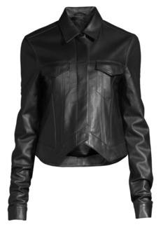 RtA Leather Point Jacket