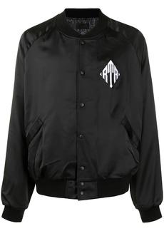 RtA logo-chest bomber jacket