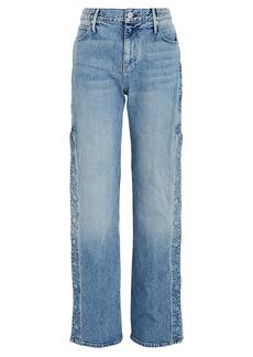 RtA Michael Snap Straight-Leg Jeans