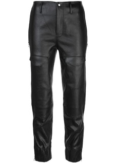 RtA mid-rise tapered trousers