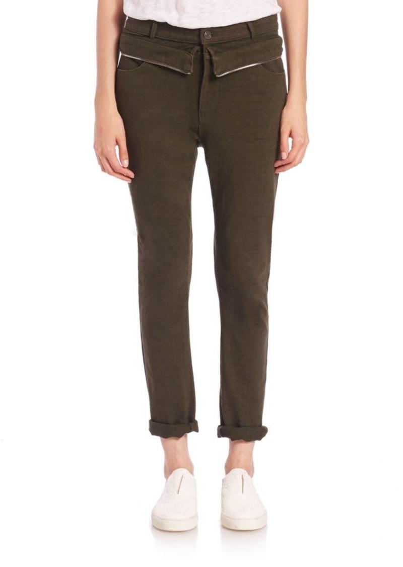 RtA Morton Zip-Waist Jeans