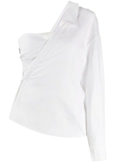 RtA one-shoulder blouse