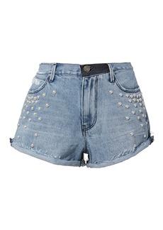 RtA Pearl Denim Shorts